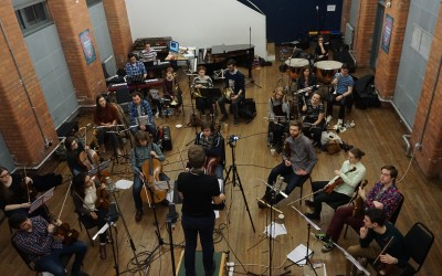 Almost Paradise Orchestra Recording